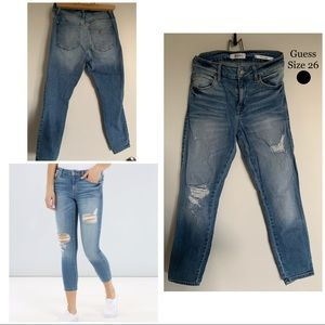 "GUESS ""Sexy Curve"" Ankle Jeans"